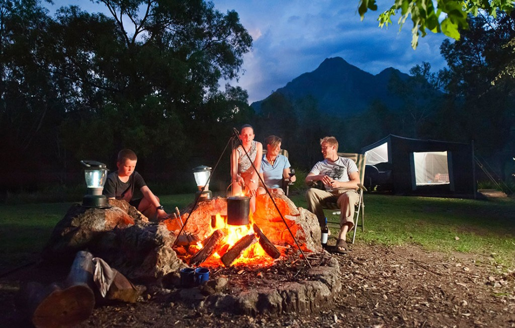 Mt Barney Lodge Camping